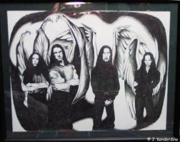 Type O Negative portrait by aingealdorcha