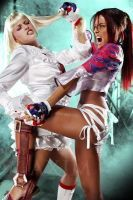 Lili vs Christie--Maxim by DonAeinis
