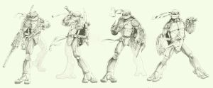 TMNT shading by Darkness33