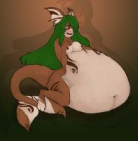 Full of fish by Bigger-Better-Belly