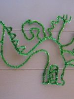 pipe cleaner Trogdor by tailsxo