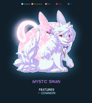 (Bianra) Mystic Swan - Personal by Paper-Rabbit