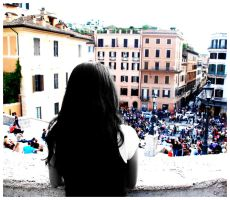 spanish steps. by blackTWINS
