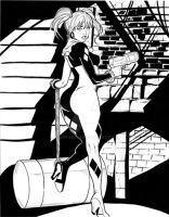 Harley Quinn by Martheus Wade by martheus