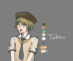 Takeru by conwolf