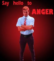 Say hello to Anger! - Inside Out cosplay by KyDora47