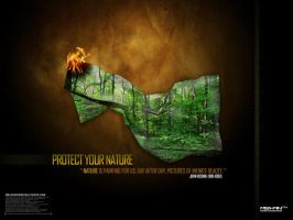 Protect Your Nature by malshan