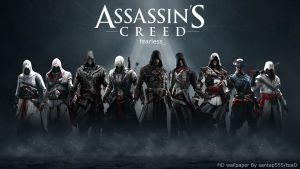 Assassin's Creed HD wallpaper 2 by teaD by santap555
