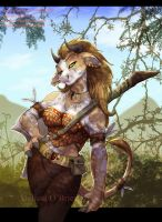 Tauren - AppleBlossom by frisket17