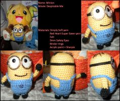 Al the Amigurumi Minion by JulianaK