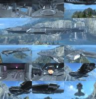 COV CCS BATTLECRUISER - FORGE WORLD by D4RKST0RM99
