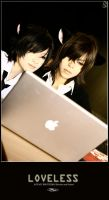 LOVELESS: Seimei is a MAC user by rosiael