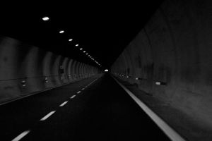 End of The Tunnel by NorbertKocsis