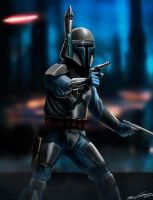Star Wars II - Jango fett by PetuGee