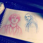 hobbit sketches by ggns