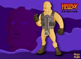 Hellboy Animated : Roger by mojomann