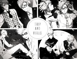DRAMAtical Murder Virus and Trip by animeloverxxxxx