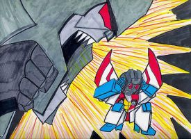 DAMMIT STARSCREAM by Fire-Redhead