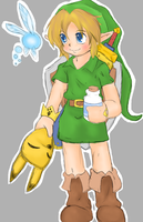 Young Link by moe-kawaii-sunshine