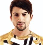 Monday Portrait Painting 9.15.2014 Mitch (PTX) by thewordlesssignature