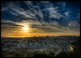 Jerusalem Sunset III by IrregardlessInc