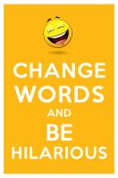 change words and be hilarious by manishmansinh