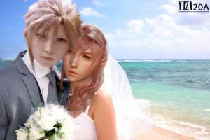 Married of Cloud and Lightning by Yuza20a