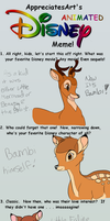 Disney Meme - Bambi by kagomelovesinu