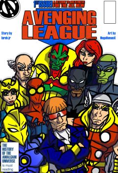 Avenging League #1 by NegaHumanX by lurch-jr