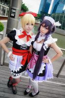 Love Live! - Mogyutto LOVE Ayase x Nozomi by Xeno-Photography