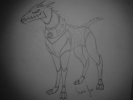 ben 10-  Kevin's dog by frecitha98
