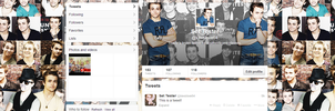 Hunter Hayes - Twitter Set #2 by myfremioneheart
