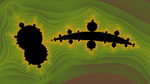 A Transformed Mandelbrot by element90