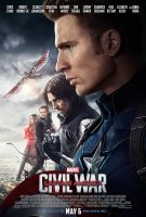 New Captain America: Civil War Team Cap Poster by Artlover67