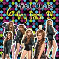 Miley Cyrus 6PngPack by SweetLoveXOXO