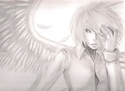 Angel Sketched by asian-wannab