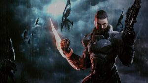 Mass Effect 3 Raining Reapers by Jazz117Volkov