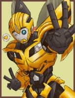 TFP Bee 'Ganbare yo!' by soul-crafter