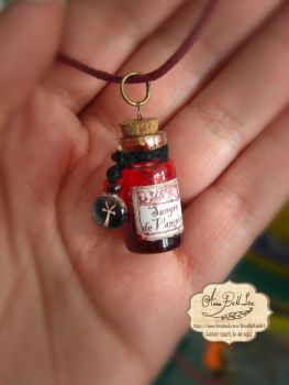 Tiny Bottle by AnnaBellLeeArt