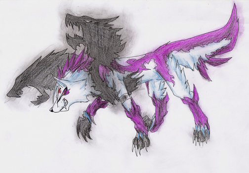 Exile-MW Wolf form by Fly-Sky-High