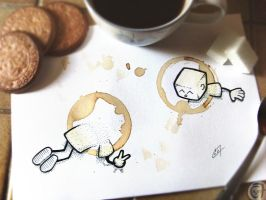Portal Coffee ^o^ by C0y0te7