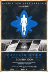 Blue Varient Captain Atom 2016 movie poster by Sumitsjc