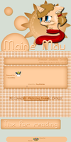 Maine Mau journal skin by DBluver
