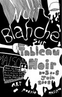 Affiche nuit blanche by shetsy