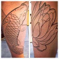 Start of jap leg sleeve by jerrrroen