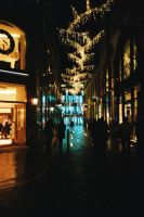 London Streets of Light by willmeister42