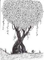 The Ink Tree by Z-E-L