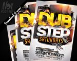 Dubstep And HipHop Flyer Template PSD by REMAKNED
