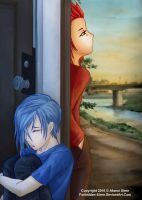 AkuZeku - A Break Up by Forbidden-Siren