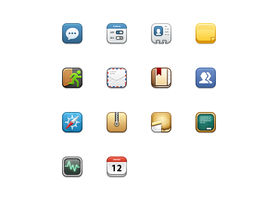 small ios retina style icons by Ashung